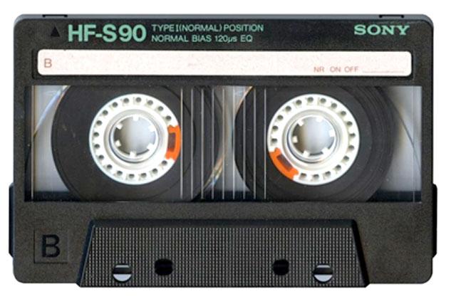 Cassette audio - sony