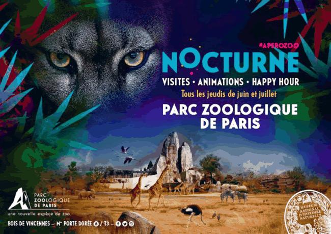 Les nocturnes du Parc zoologique de Paris